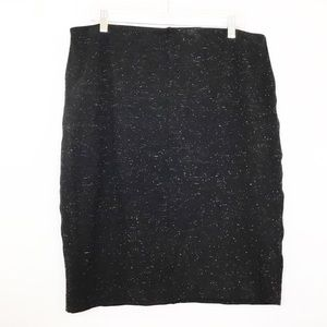 Philosophy Space Dye Stretch Pencil Skirt